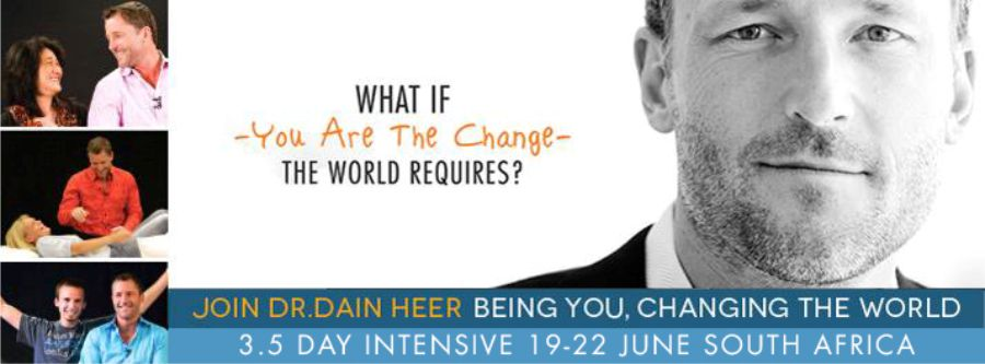Dr Dain Heer is coming to South Africa