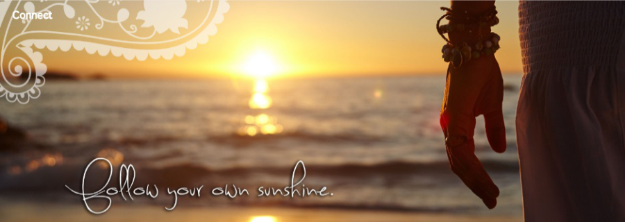 Follow your own sunshine with Sharni Quinn