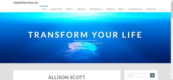 Allison Scott Transformations